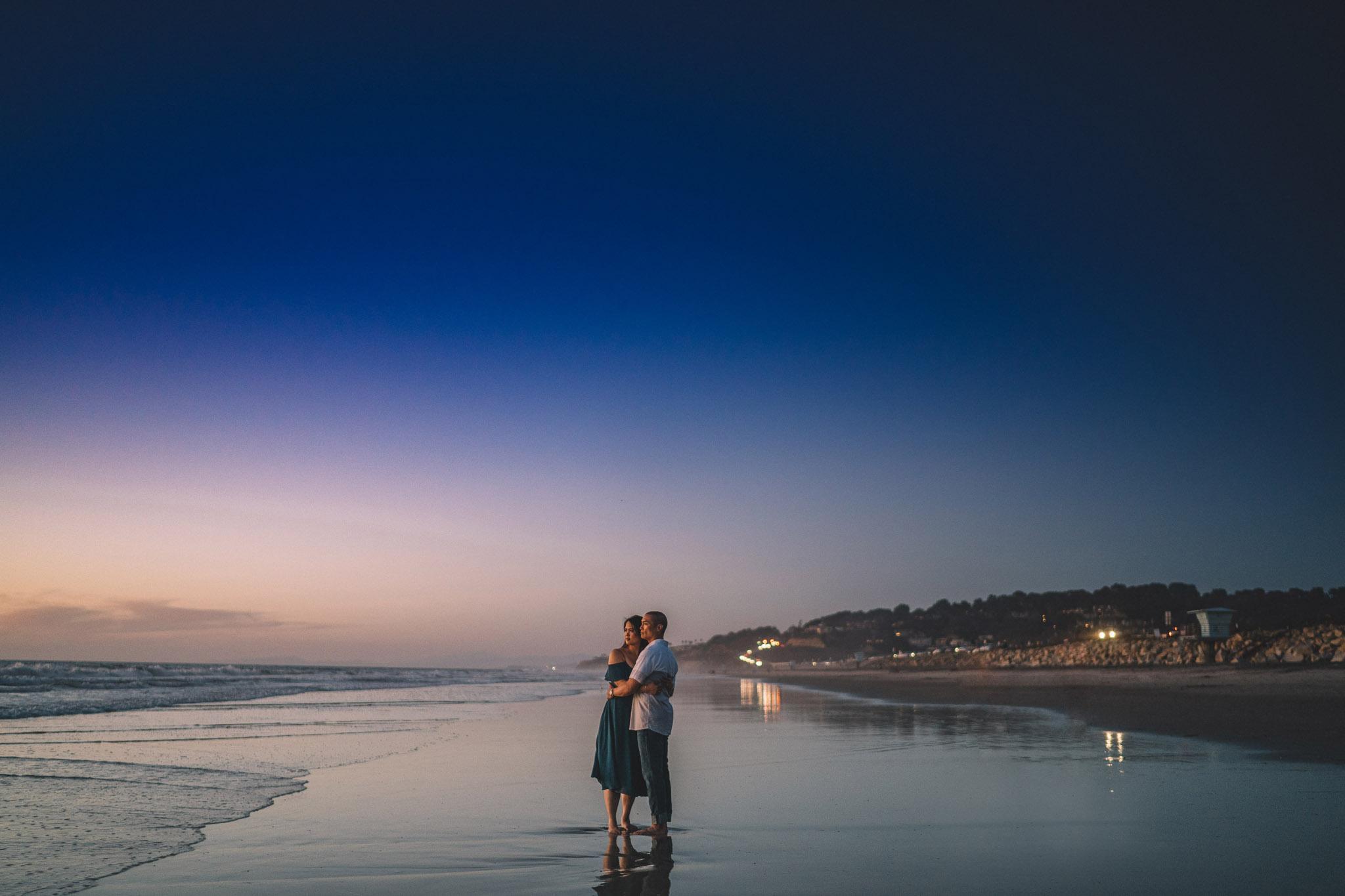 San Diego Torrey Pines State Beach Engagement