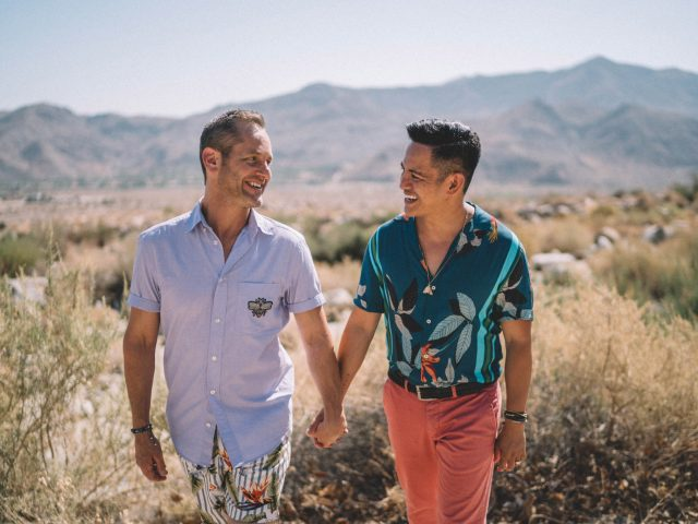 Palm Springs Gay Engagements Photos