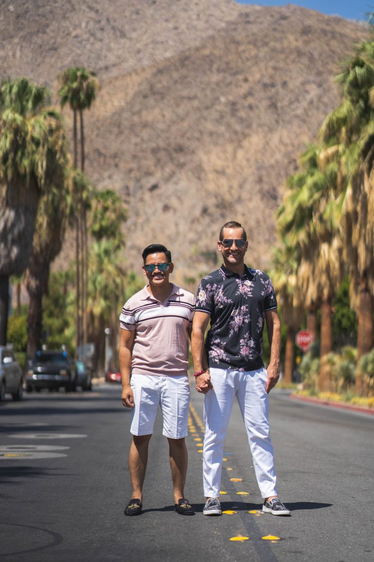 Palm Springs Engagements Photos